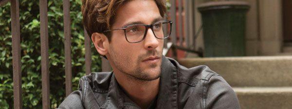 Eye doctor, man wearing Timex eyeglasses in Oak Brook, IL