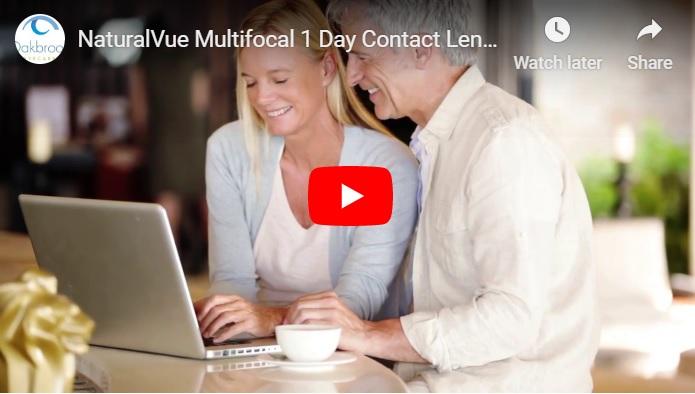 Video Multi Focal Contact Lenses in Oak Brook, Illinois