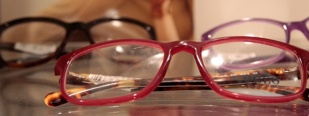 Eye doctor pairs of Polo Ralph Lauren eyeglasses in Carrollton, TX