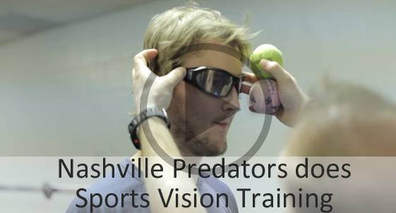 Nashville Predators Vision Training Play