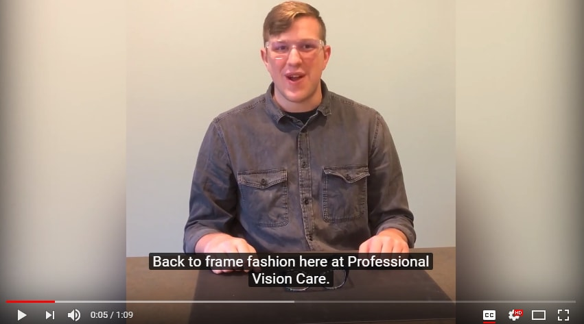 womends designer frames video