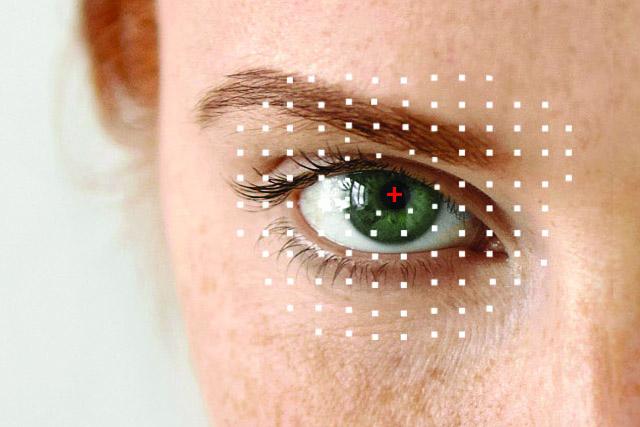 Eye doctor, green eye closeup in New Baltimore, Michigan