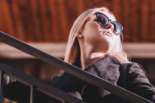 Woman Sunglasses Closeup