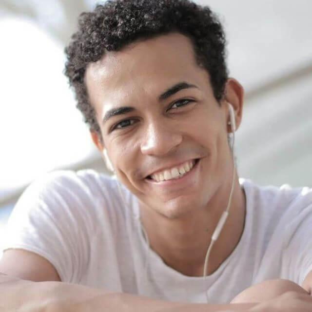 handsome hispanic man 3