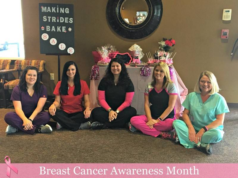 Making Strides of West Tennessee Walk Bake Sale - Clinical - October 2016