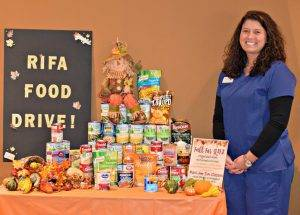Rifa Food Drive - November 2016 - with Kaela Grooms