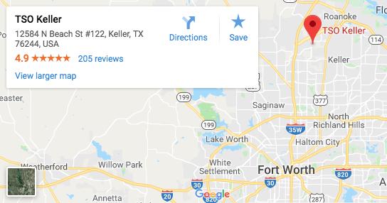 TSO Keller Google Map