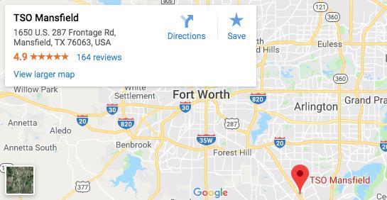 TSO Mansfield Google Map