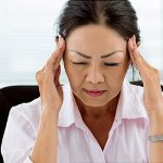 Woman having a migraine, Eye Doctor in Cobble Hill, BC