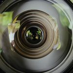 Close-up of lens, Optometrist in Cobble Hill, BC