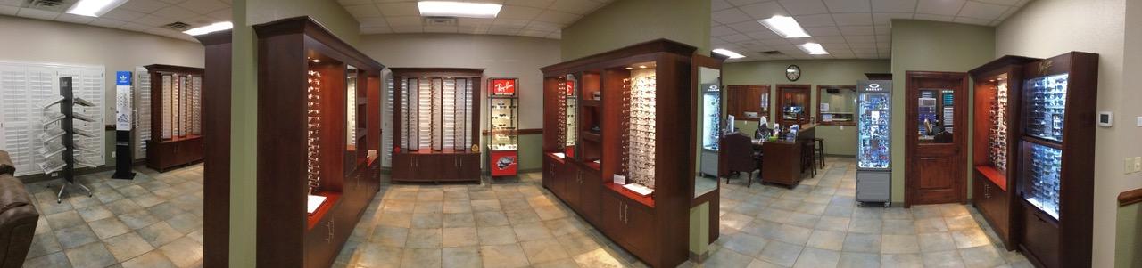 eye exam office in Midland, TX