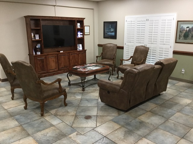 eye exam office in Midland, TX