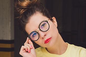 Eye focus on glasses in Lockhart, TX