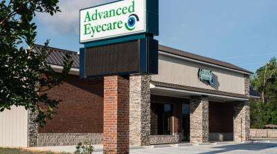 Outside of eye care clinic, Advanced Eyecare in Picayune