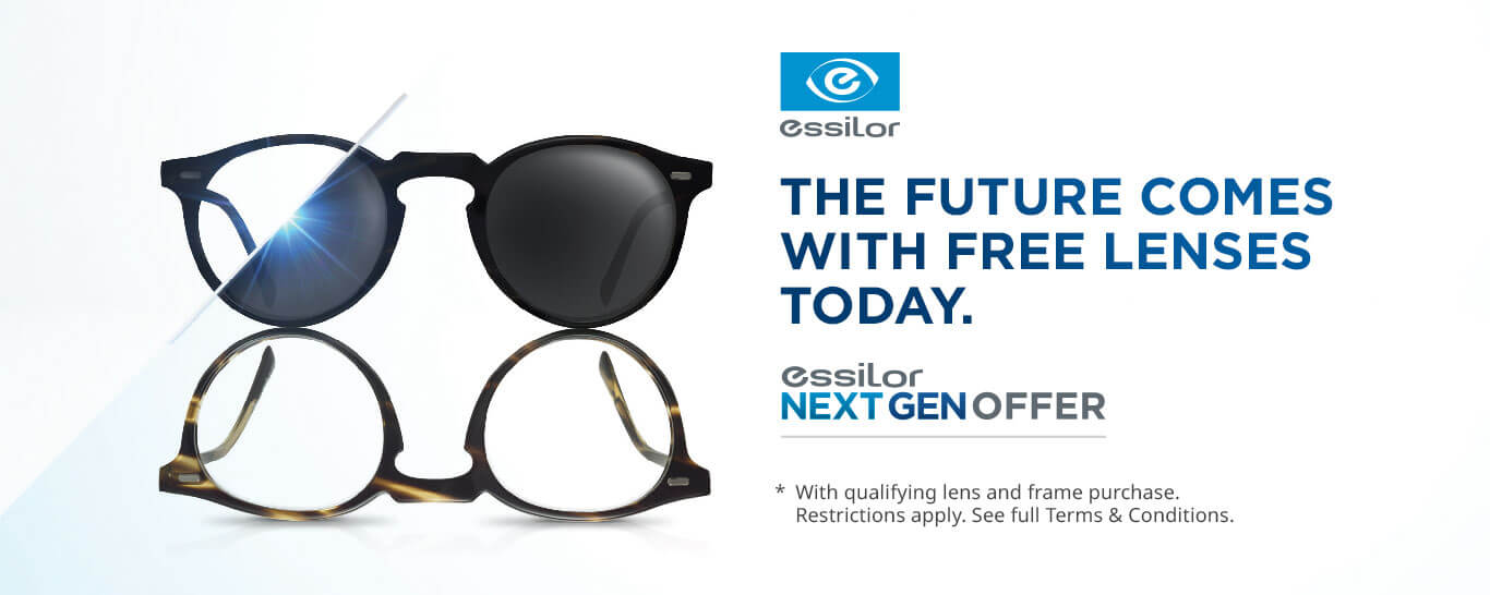 free essilor next gen offer