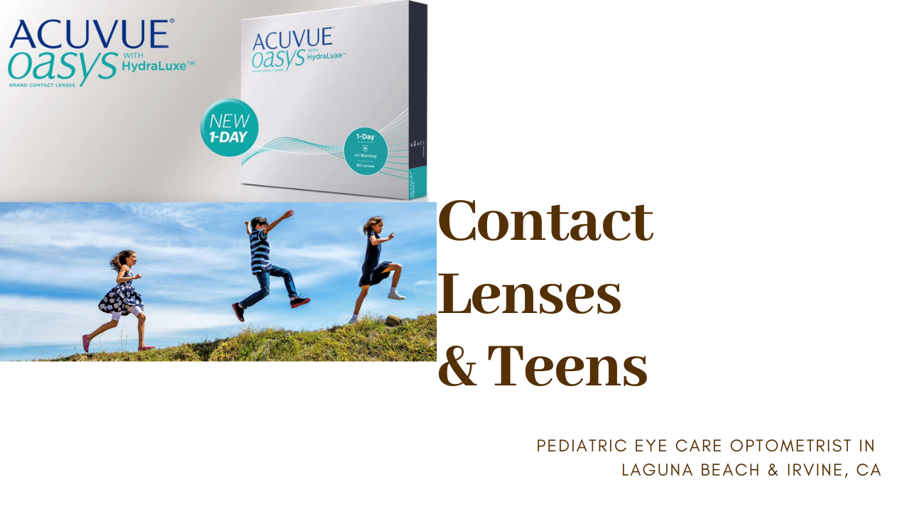 Eye Exam, Contact Lenses For Teens, Eye Doctor, i2iOptometry, Irvine Laguna Beach, CA Contact lenses