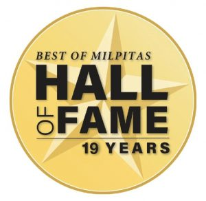 EYE DOCTOR - BEST OF MILPITAS HALL OF FAME 19 YEARS
