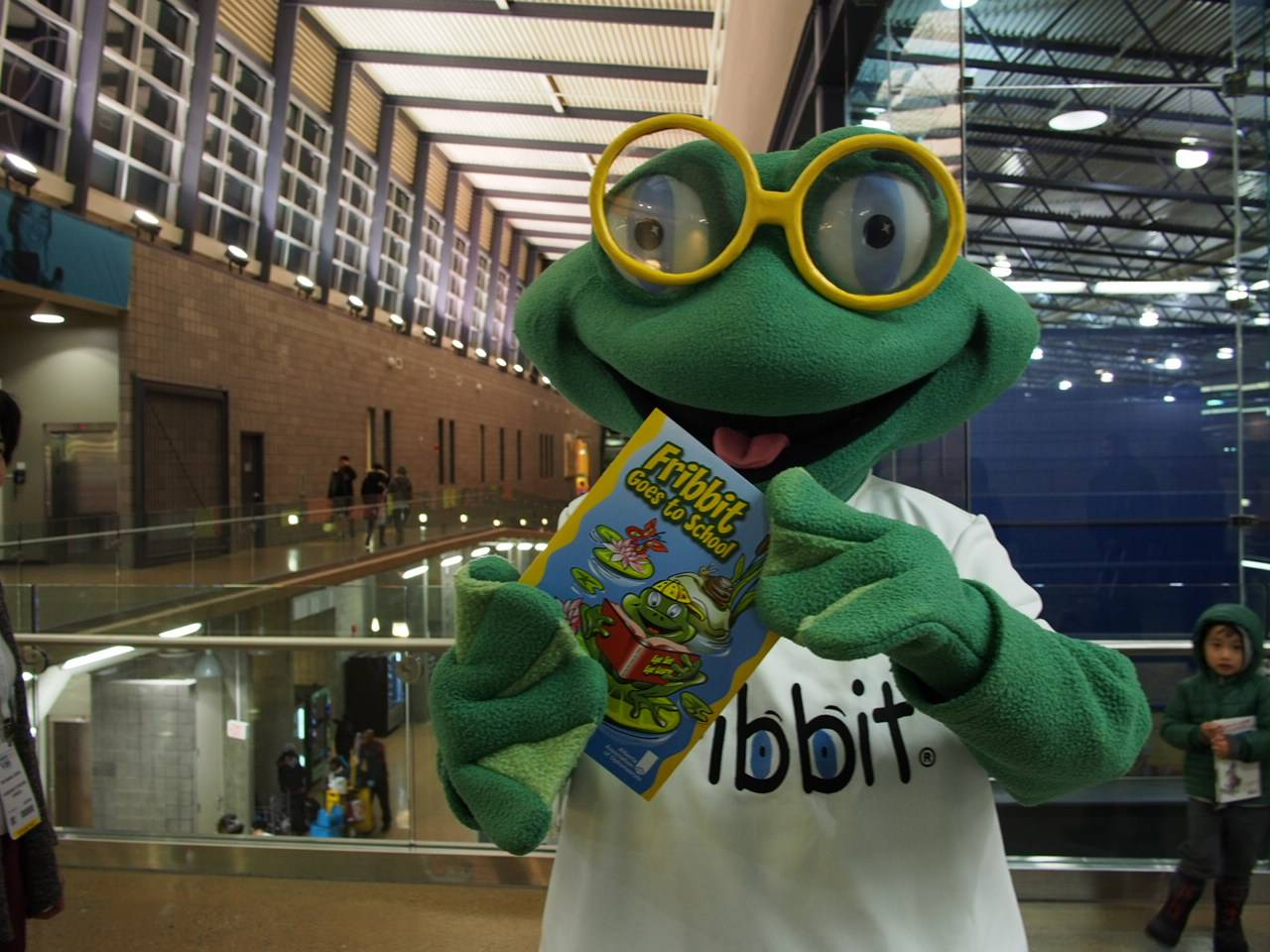 Fribbit and Calgary optometrist Dr. Leong