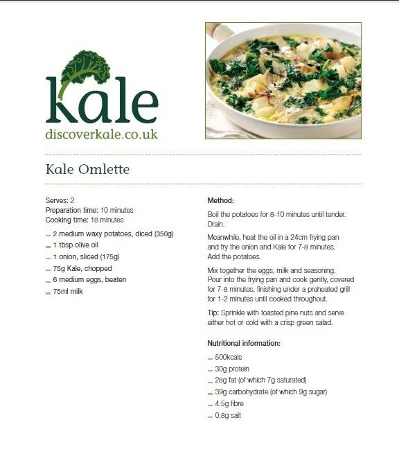 kale recipie eye doctor calgary
