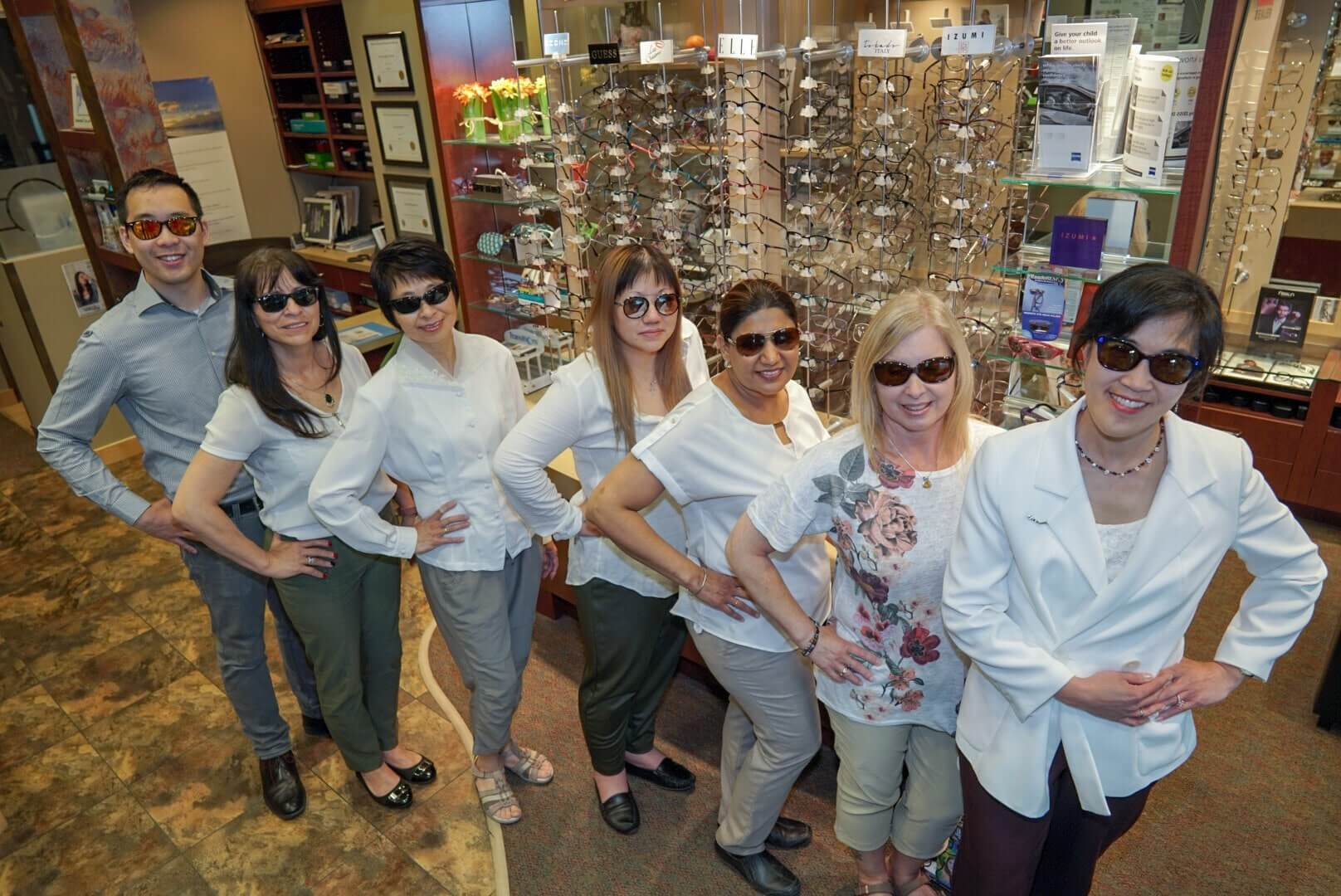 Our eye care team in Calgary