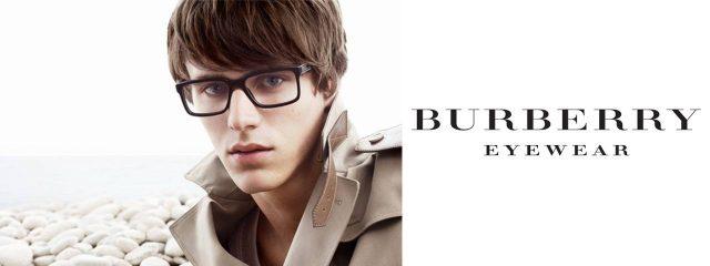 Eye doctor, man wearing burberry eyeglasses in Chula Vista, CA