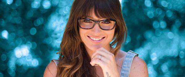 Eye doctor, woman wearing Spy+ eyeglasses in Chula Vista, CA