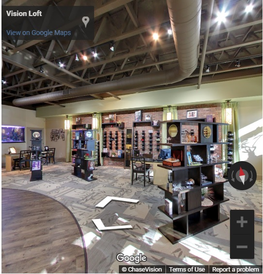 vision loft virtual tour in Concord, North Carolina