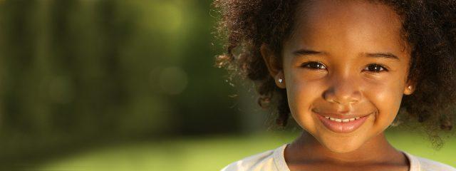 Eye doctor, african american girl smiling Nesconset, NY