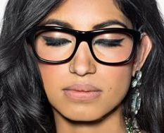 Ad for Bobbi Brown Eyeglass Frames