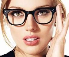 Ad for Oliver Peoples Eyeglass Frames