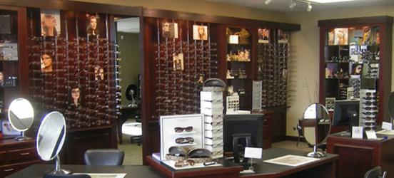 The eyeglass frames at our eye care center, Hillsboro, MO