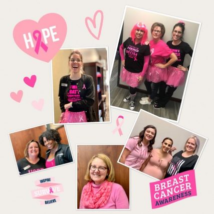 regional staff breast cancer awareness - Eye Doctor - St. Peters, MO
