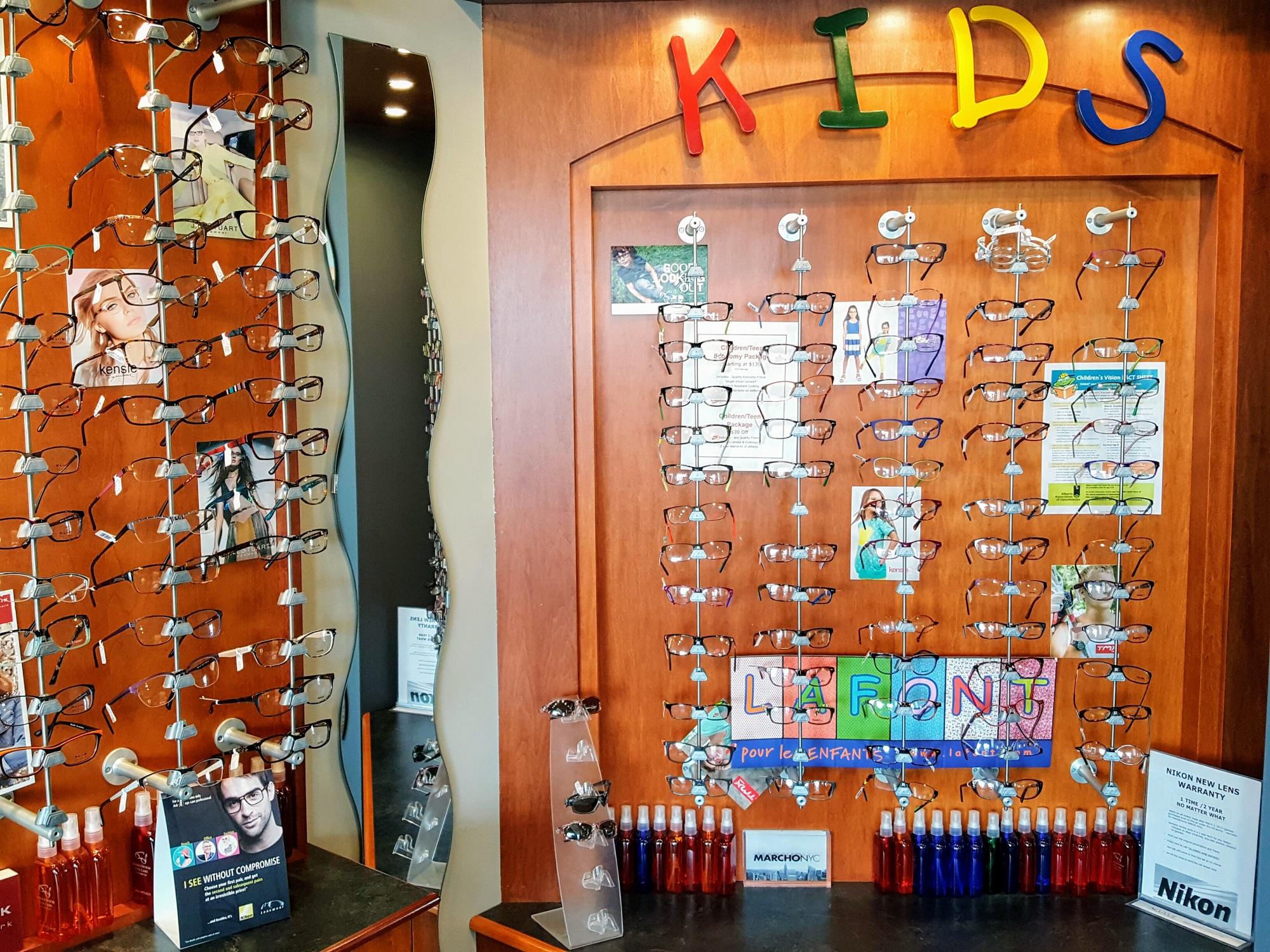 kids optical