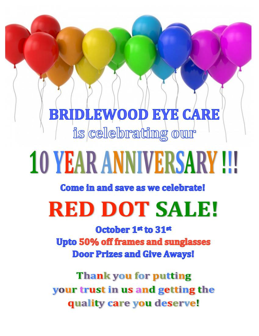 Revised 10 anniversary sale