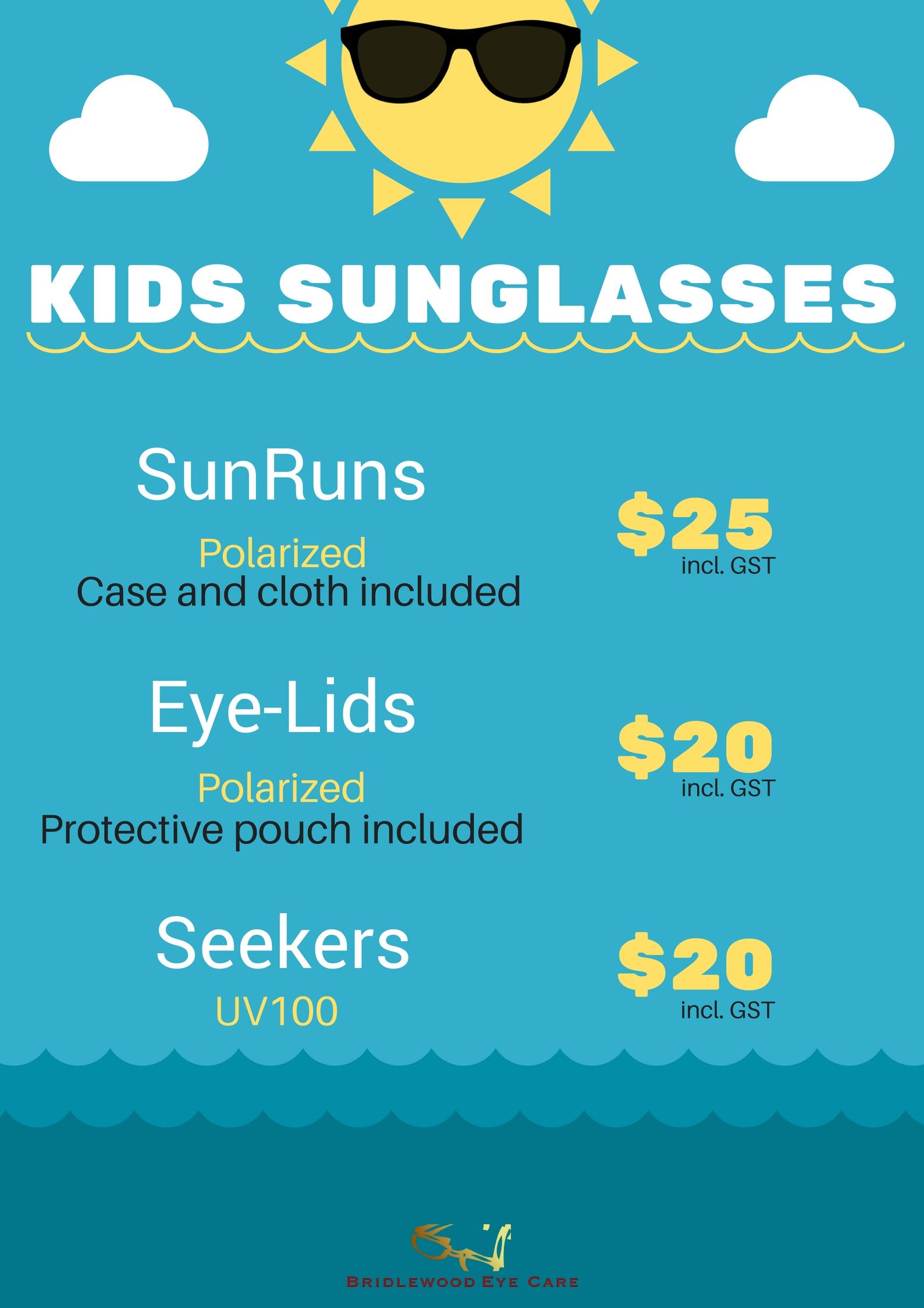 Bridlewood Kids sunglasses 2018