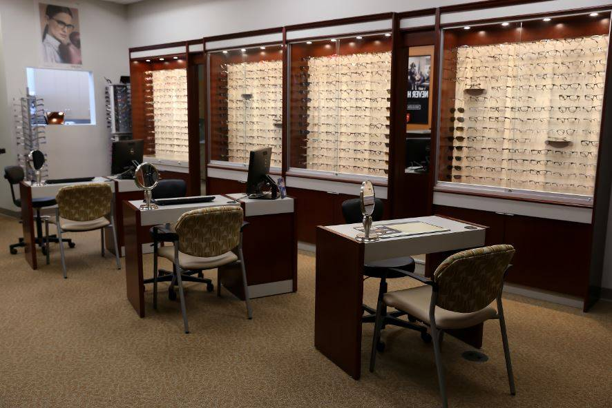 Sobel Eye Care waiting room
