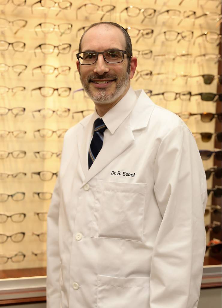 Dr. Sobel with Showcase