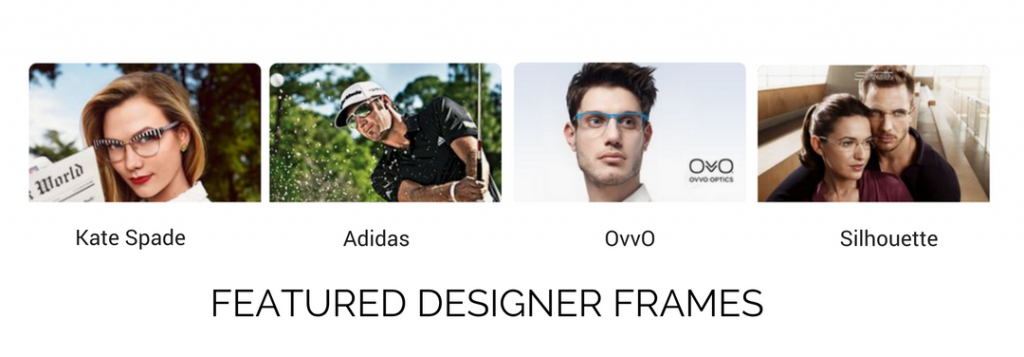 Featured Frames - kate spade - adidas - ovvo - silhouette - SEACOAST VISION CARE