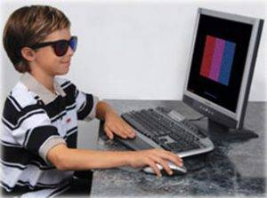 Computer Therapy System-Computer Orthoptics