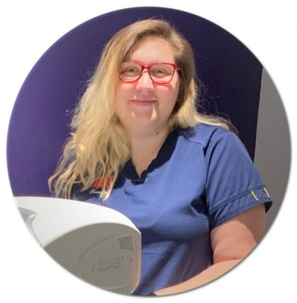 Courtney Optometric Technician 419x427