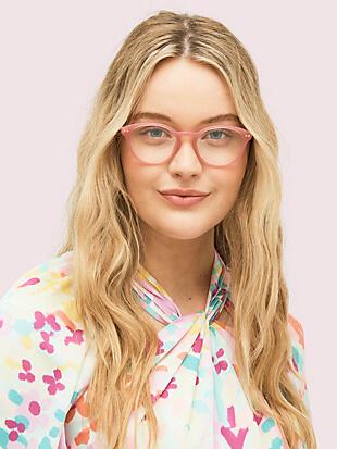 kate spade eyeglasses pink frames
