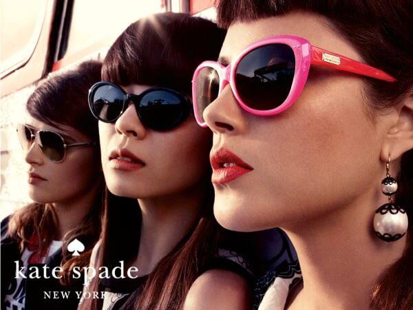 Women wearing Kate Spade Designer Eyeglass Frames