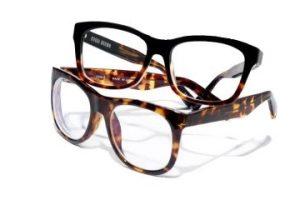 wayfarer style eyeglasses