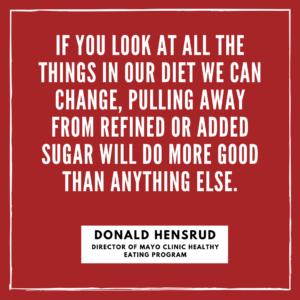 sugar eye health quote