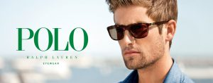 Polo Ralph Lauren sunglasses diamond bar eye doctor