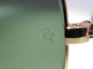 rayban laser etching custom glasses