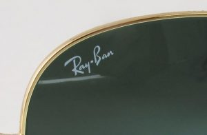 real rayban logo on lens diamond bar optometric
