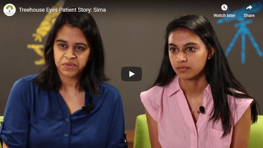 Treehouse Eyes Patient Story Sima YouTube