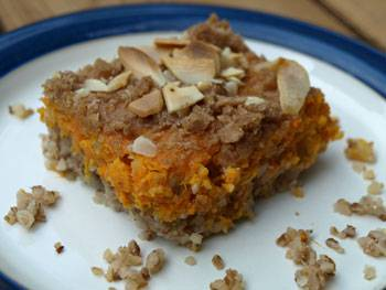 Sweet Potato and Kasha Casserole Image