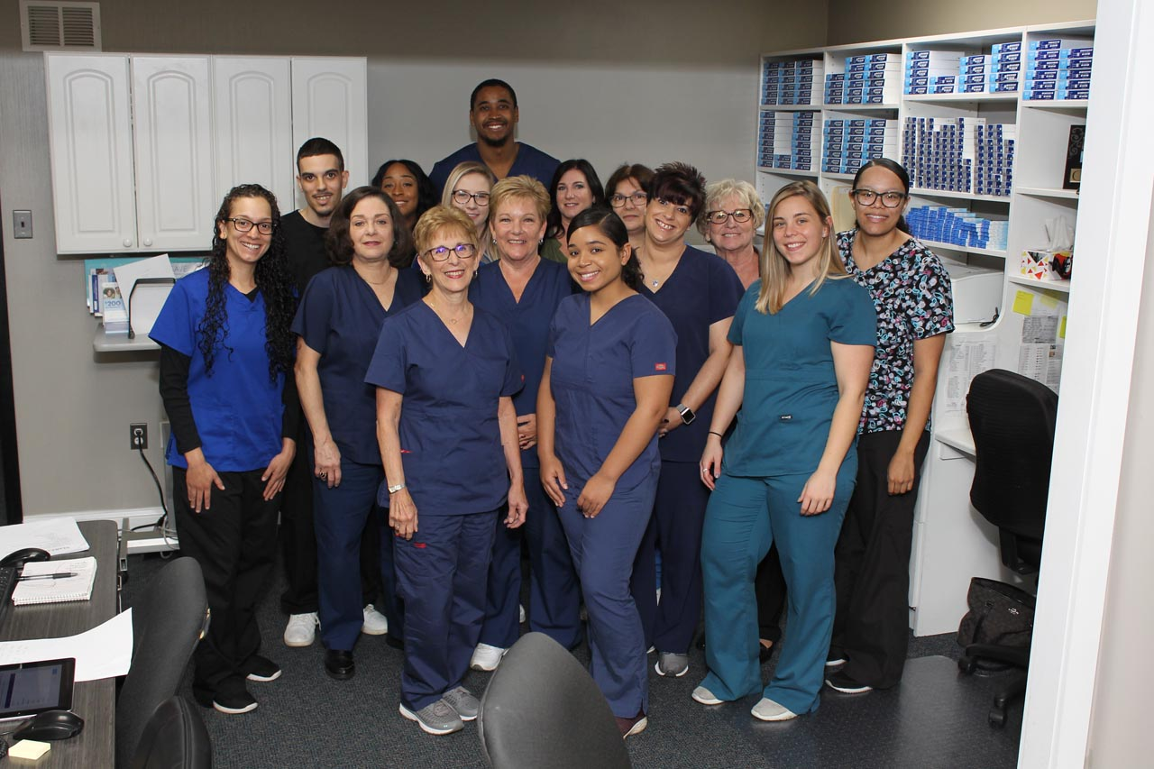 Staff at Doctor's Eye Center of Burlington, New Jersey
